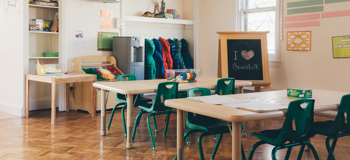 Inside Beanstalk Preschool - One of the best preschools in Philadelphia!